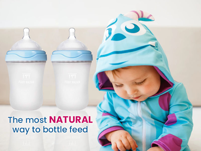 Baby Bottle with baby